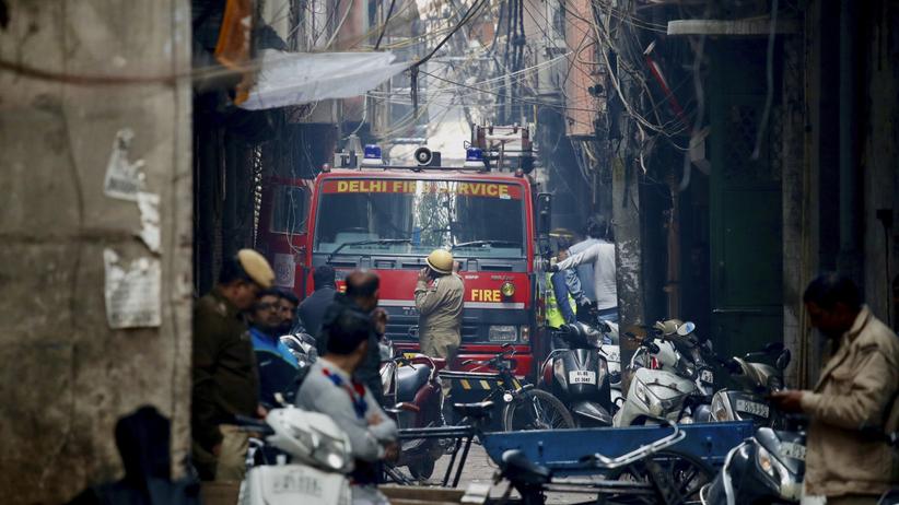 Pożar Indie