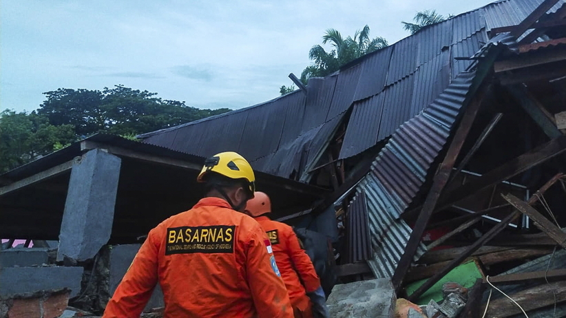 Indonezja, Trzęsienie ziemi na Celebes