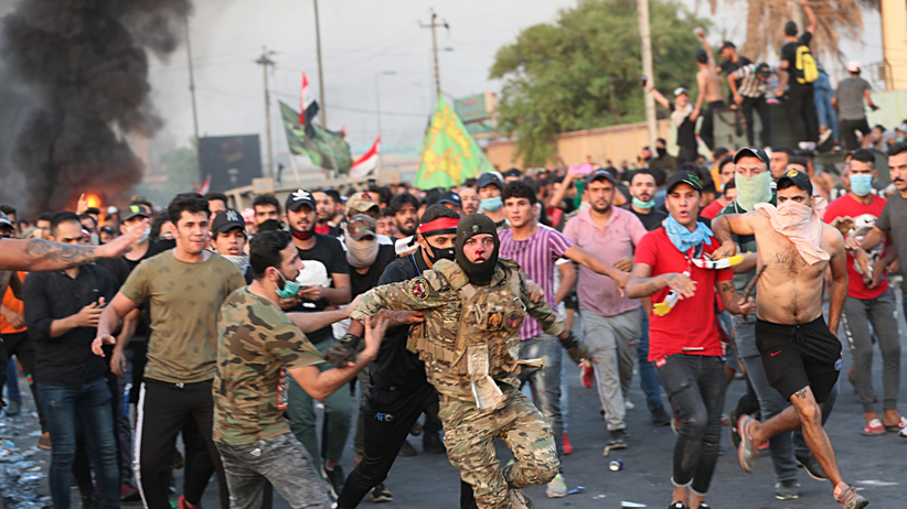 Irak protesty