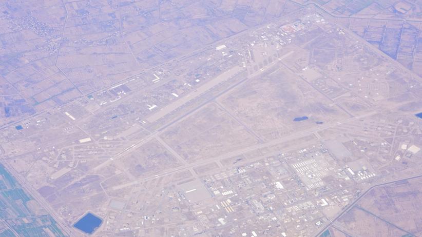 Irak. Atak moździerzowy na bazę lotniczą Al-Bakr