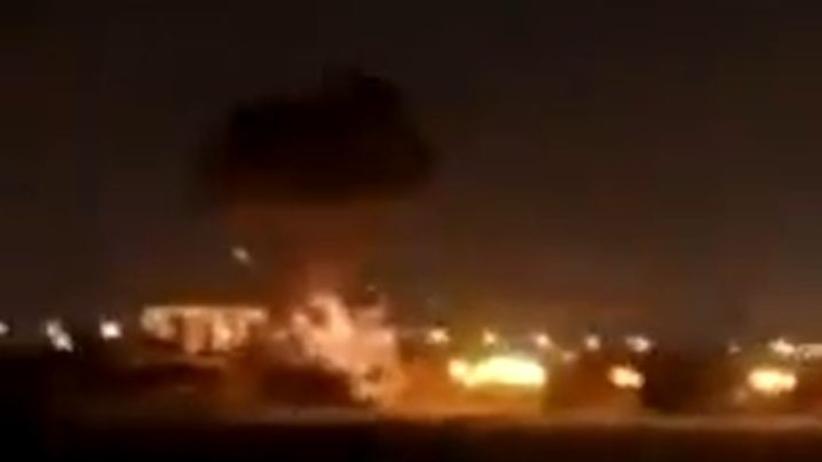 Atak na lotnisko w Erbilu
