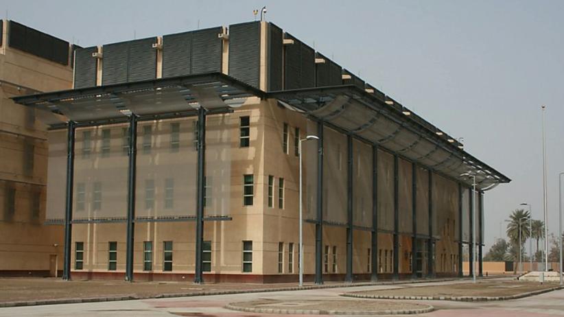 Irak. Pociski w pobliżu ambasady USA w Bagdadzie