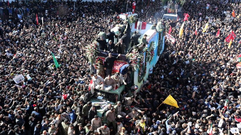 Pogrzeb Kasema Sulejmaniego