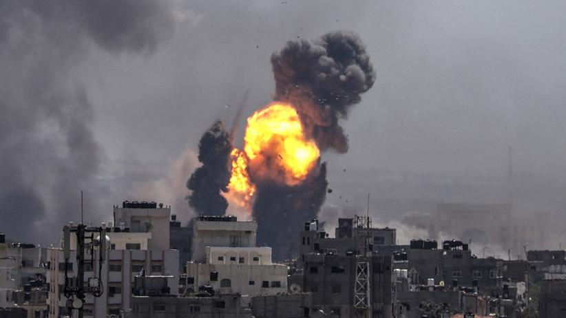 Izrael odpowiedział na atak ze Strefy Gazy. Wcześniej 200 rakiet wystrzelił Hamas
