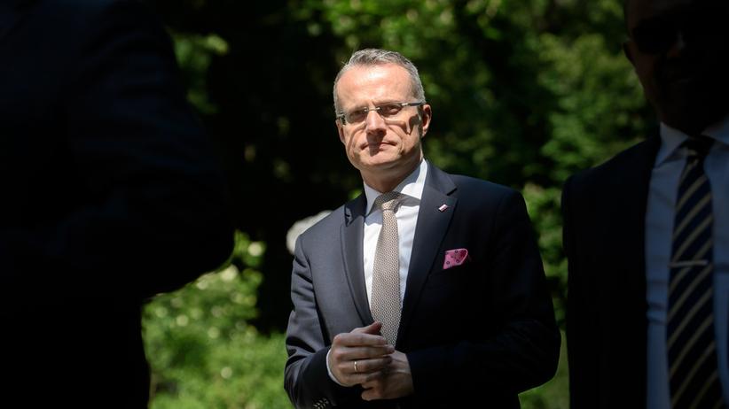 Izraelczyk, który opluł polskiego ambasadora, przeprasza