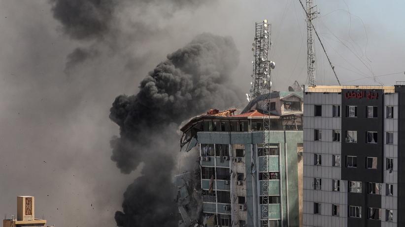 Wieżowiec w Strefie Gazy