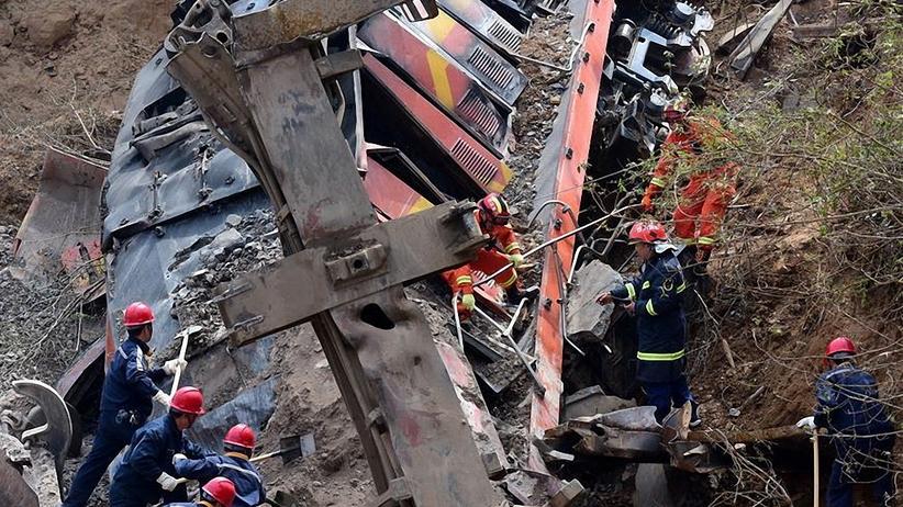 Katastrofa kolejowa w Chinach. Nie żyje sześć osób