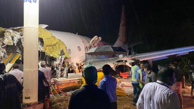 Indie, Samolot roztrzaskał się po wylądowaniu
