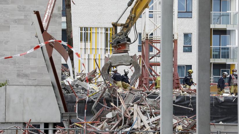 Zawaliła się szkoła w Belgii