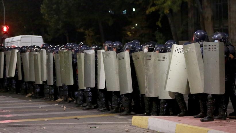 Zamieszki w Kirgistanie