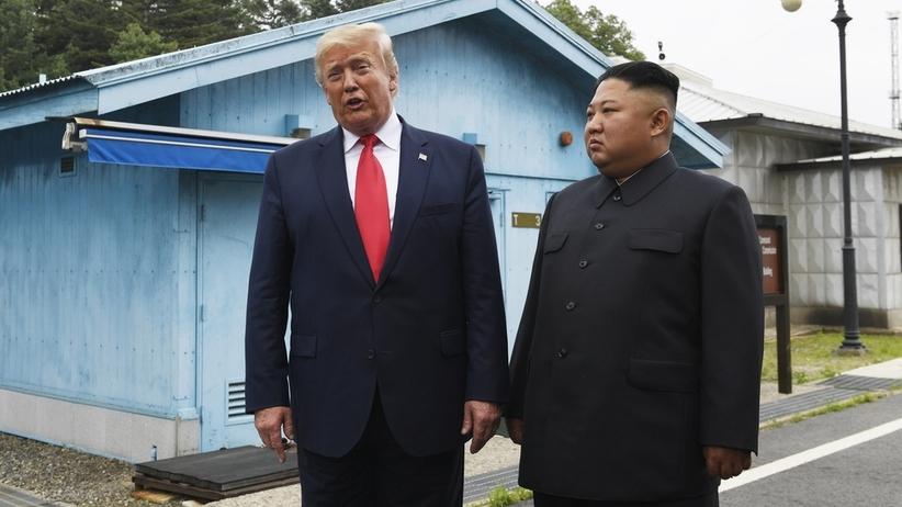 Trump przekroczył granicę Korei Płn. To historyczny moment