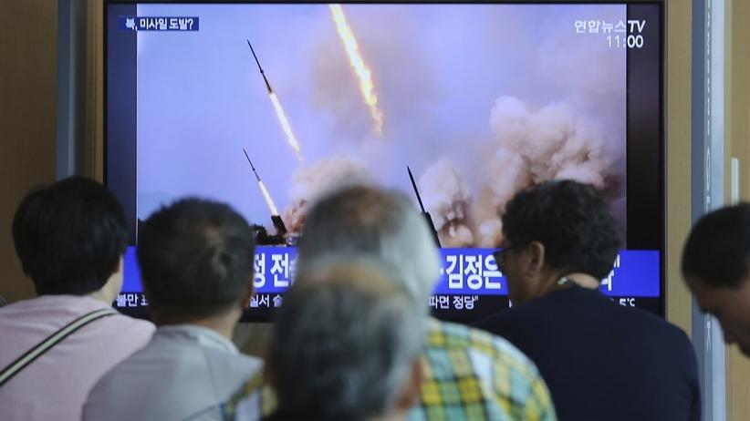 Korea Północna. Przeprowadzono test rakiet dalekiego zasięgu z udziałem Kim Dzong Una