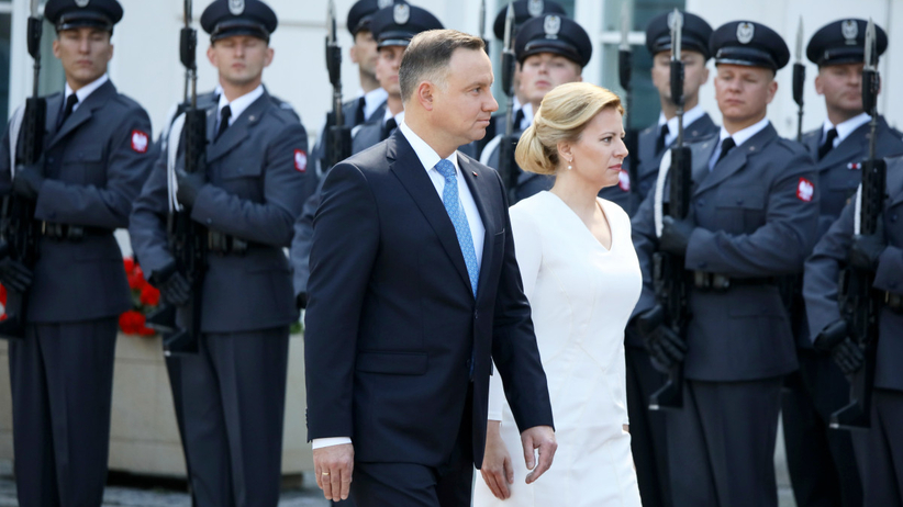 Andrzej Duda i Zuzana Czaputova