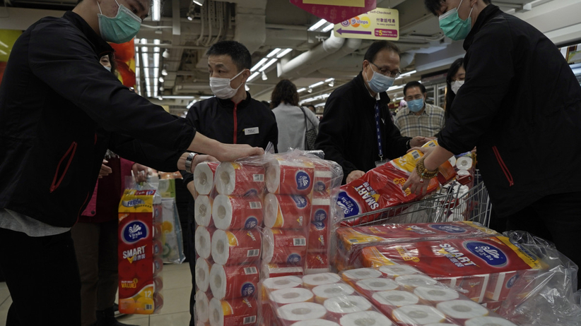 Ukradli papier toaletowy za prawie 1000 zł. Wszystko z powodu koronawirusa