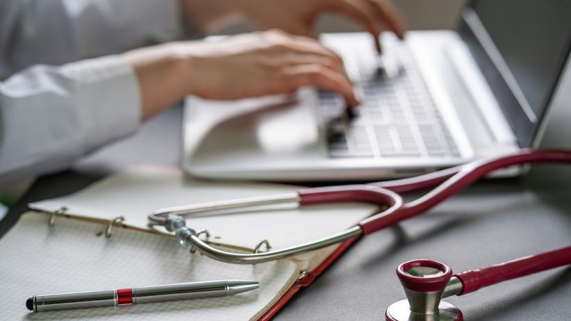cyber atak na szpital kliniczny