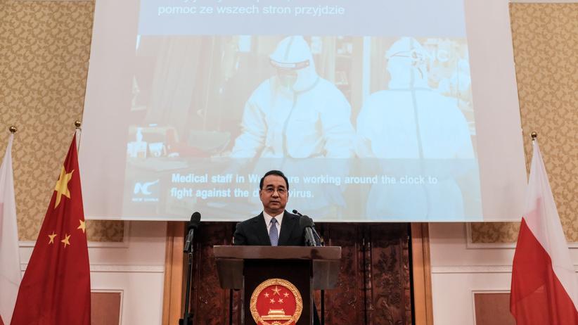 Koronawirus. Ambasador Chin w Polsce: Szczyt epidemii wirusa z Wuhan dopiero przed nami