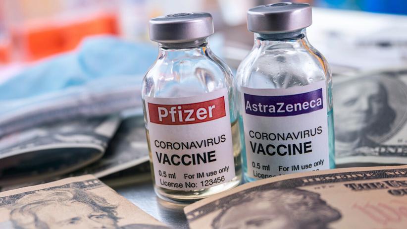 Preparaty firm Pfizer i AstraZeneca