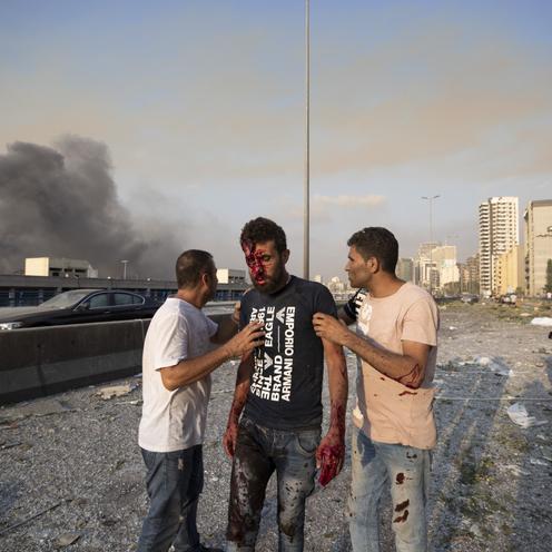 Wybuchy w Bejrucie