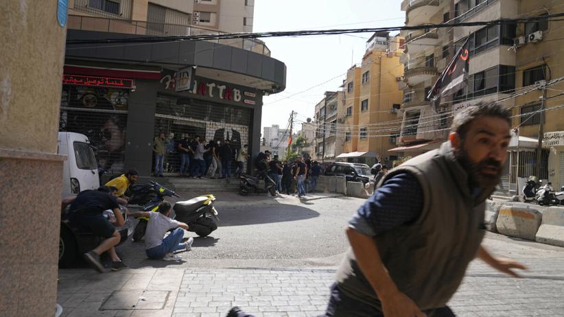 Strzelanina w Bejrucie
