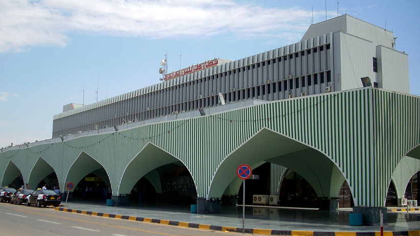 Atak rakietowy na międzynarodowe lotnisko w Trypolisie