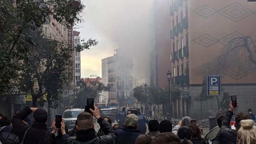 Eksplozja w Madrycie