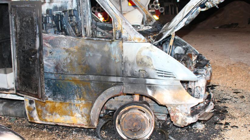 Autobus wjechał na minę. Zginęło co najmniej osiem osób