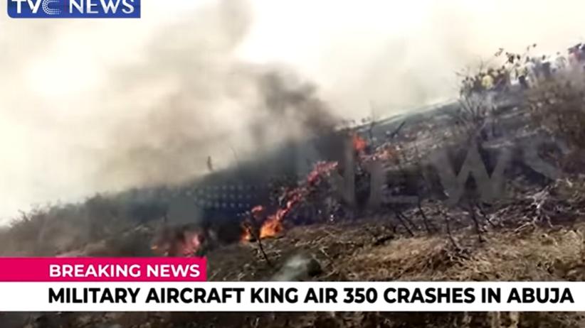 Katastrofa samolotu w Nigerii