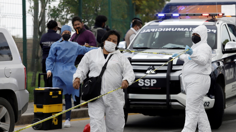 meksyk znaleziono dwie ludzkie głowy