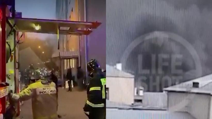 Moskwa pożar szpitala