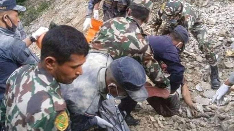 wypadek autobusu w Nepalu