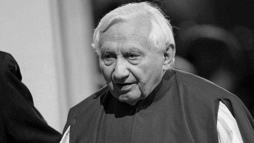 Nie żyje brat papieża Benedykta XVI. George Ratzinger zmarł w wieku 96 lat