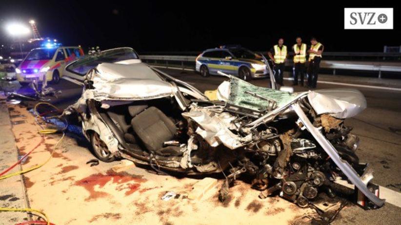Wypadek w Niemczech