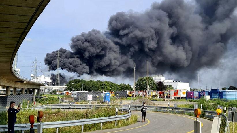 wybuch w Leverkusen
