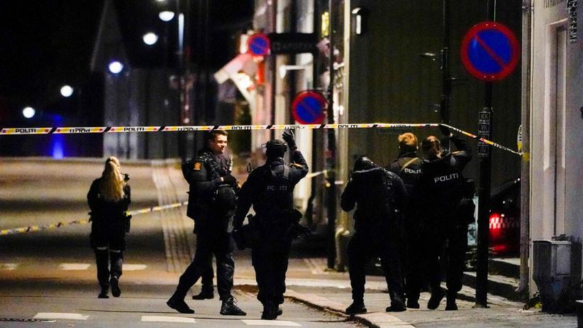 Atak w Norwegii