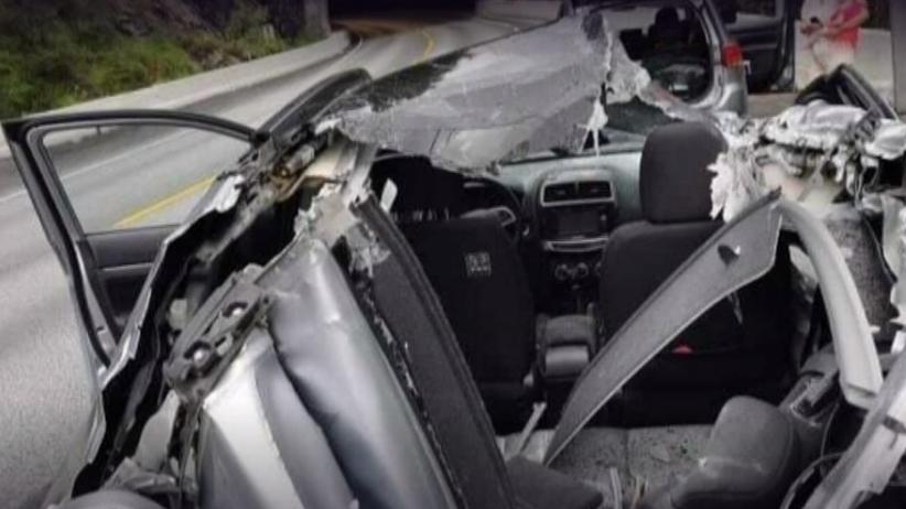 Wypadek w Norwegii. Polak cudem ocalał