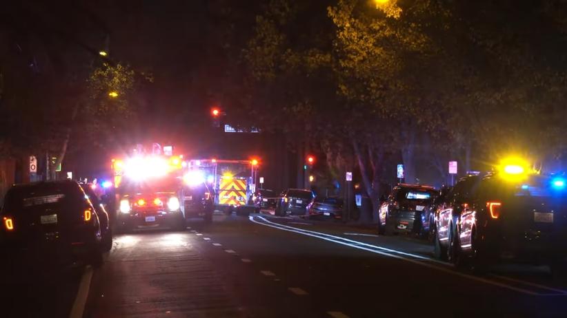 atak nożownika w San Jose