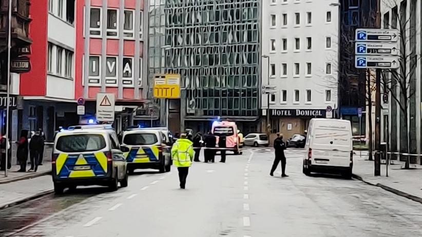 Atak nożownika we Frankfurcie