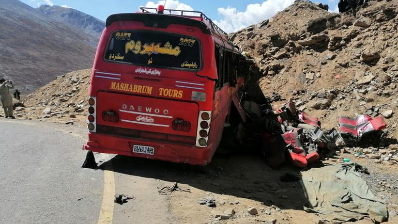 Pakistan wypadek autokaru