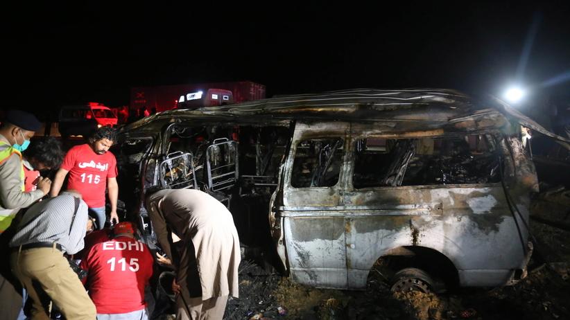 Wypadek w Pakistanie