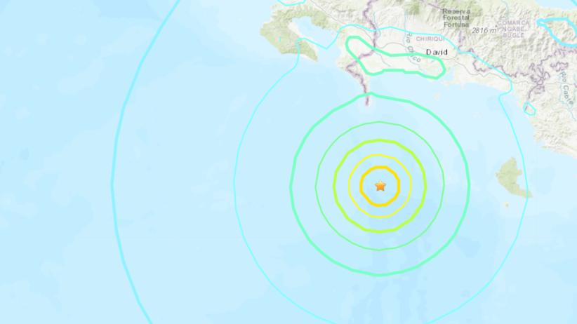 Panama/Trzęsienie ziemi