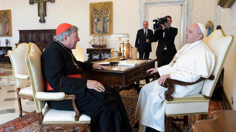 Papież Franciszek, kardynał George Pell