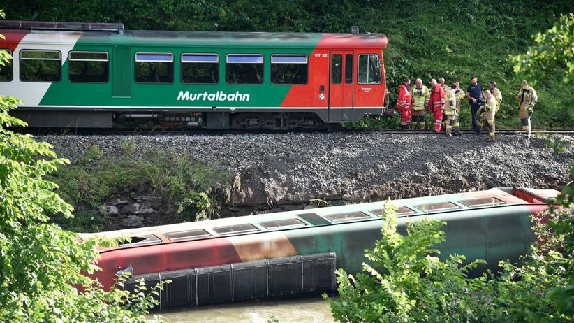 Pociąg wykoleił się w Austrii