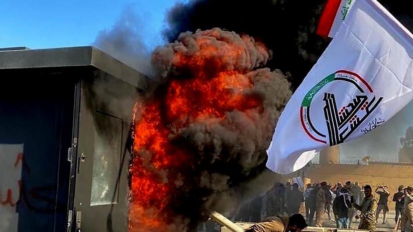 Irak wybuchy USA
