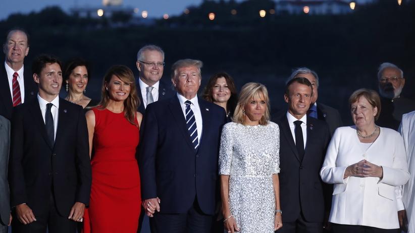 Przywódcy G7 zapowiadają pomoc dla Brazylii w walce z pożarami