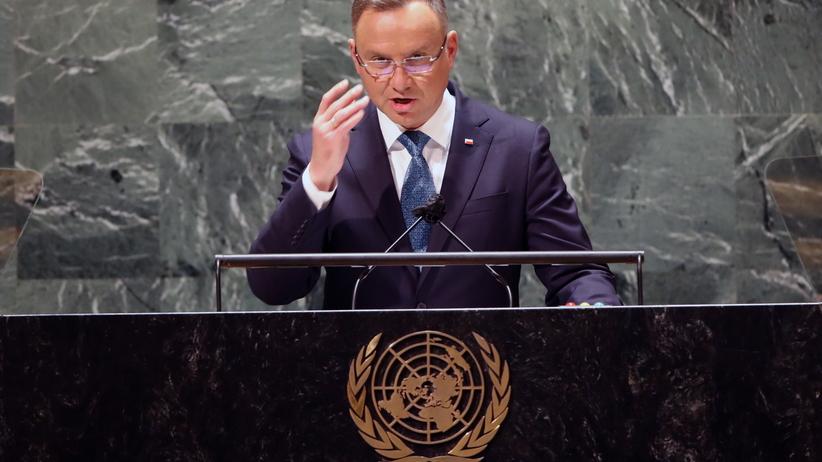 Andrzej Duda, ONZ