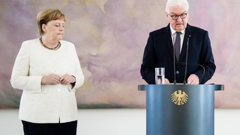 Angela Merkel miała kolejny atak drgawek