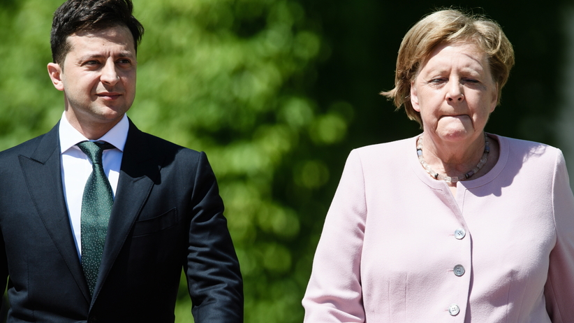 Dziwne zachowanie Angeli Merkel. Tajemnicze nagranie obiegło sieć