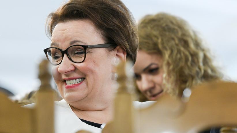 Anna Zalewska w PE nie zajmie się edukacją.. Była szefowa MEN wybrała ochronę środowiska
