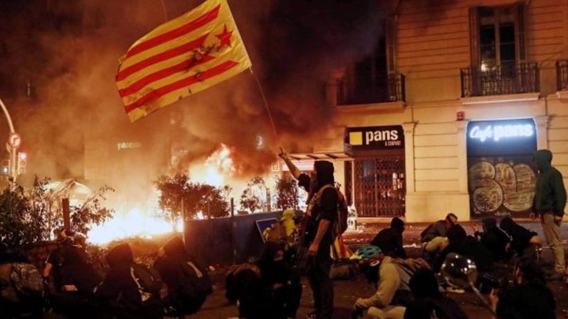 Barcelona protesty