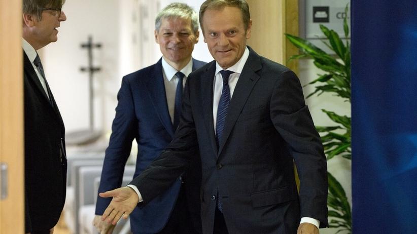 Donald Tusk zawiesił szczyt UE do wtorku